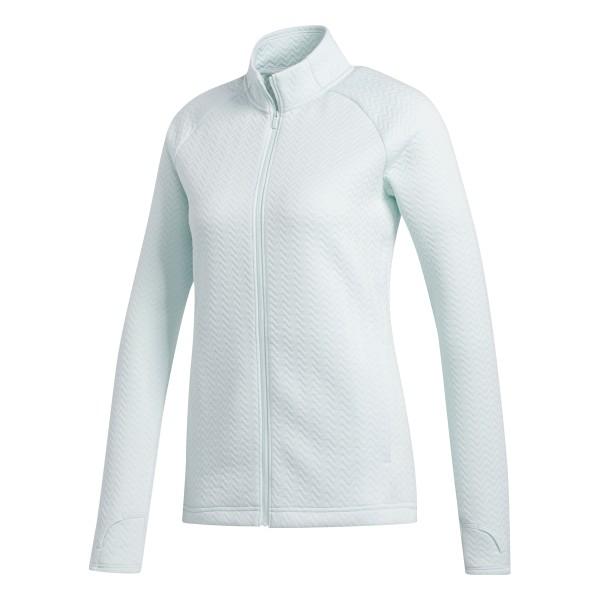 adidas Texture Full-Zip Jacke Damen grün