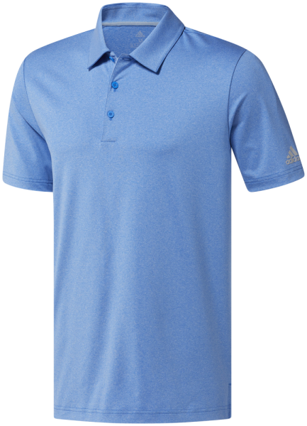 adidas Ultimate365 Heather Polo Herren hellblau