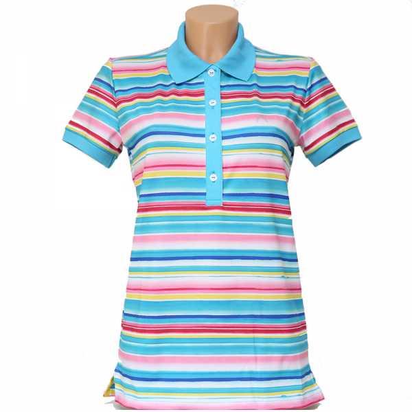 Alberto LYNN Dry Comfort Polo Damen blau
