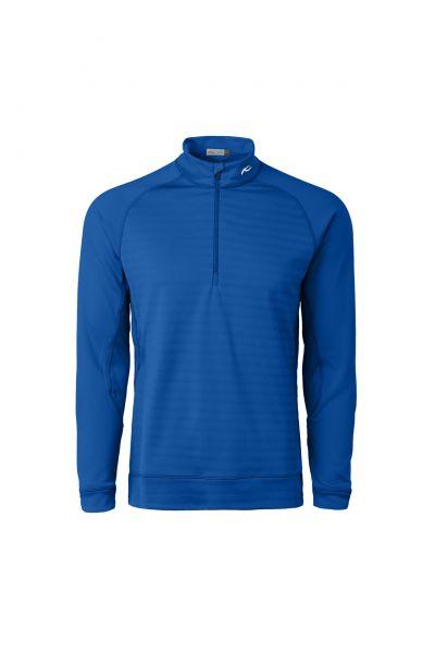 KJUS Keano Stripe Half-Zip Pullover Herren blau