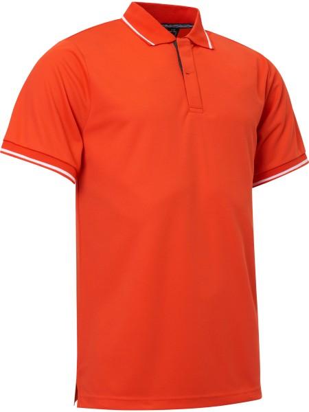 Abacus HARBOR Polo Shirt Herren orange