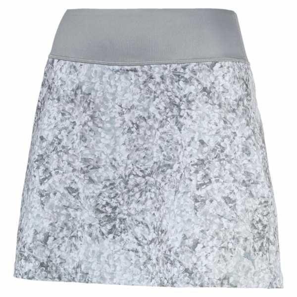 Puma PWRSHAPE Floral Knit Skirt Damen grau/weiß