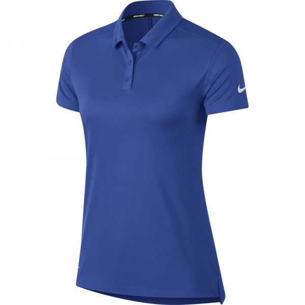 Nike Dry Golf Polo Damen royalblau