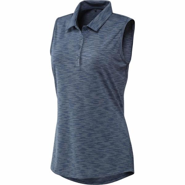 adidas SpaceDye sleeveless Polo Damen