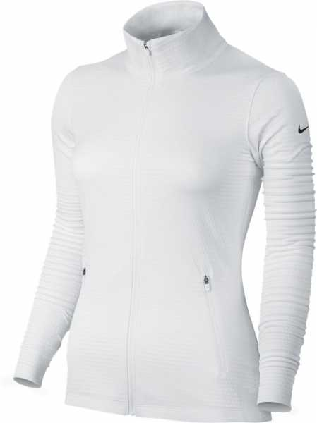 Nike Women's Dry Golf Jacket weiß