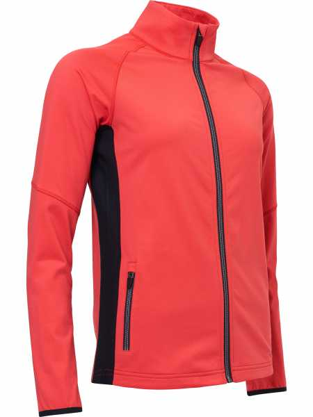 Abacus ASHBY Fullzip Pullover Damen rot