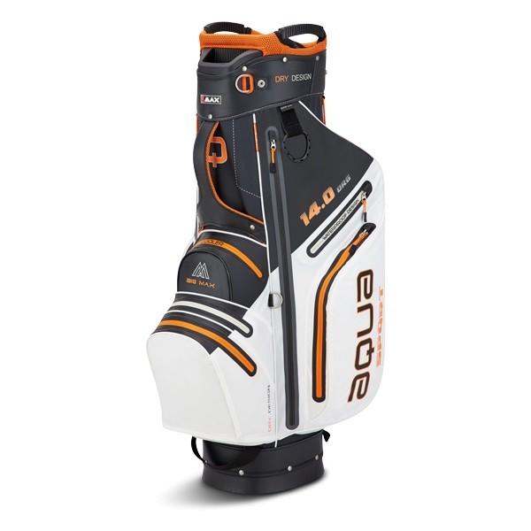 Big Max Aqua Sport 3 Cartbag weiß/schwarz/orange
