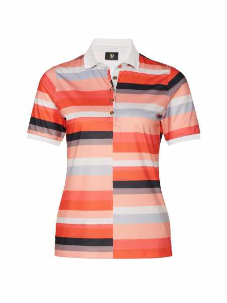 Bogner Tine Polo Damen multicolor/rot