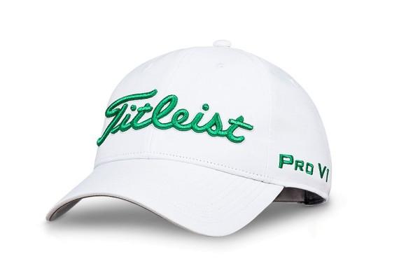 Titleist Tour Performance White Collection Cap weiß/grün