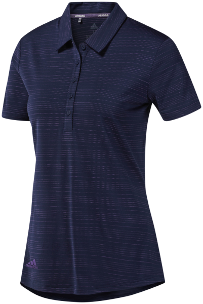 adidas Microdot Polo Damen navy