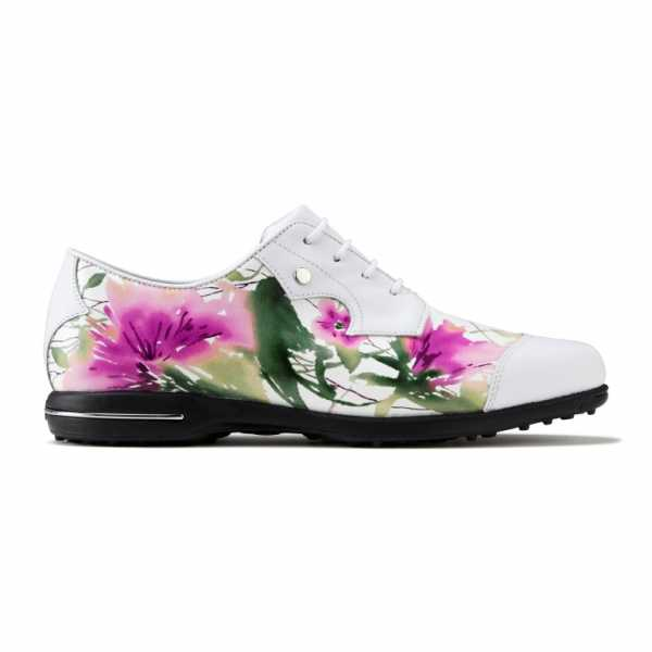 Footjoy Tailored Collection 2017 Damen weiß/Blumen