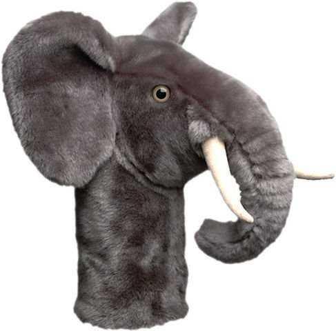 Daphne's Driver- & Fairway Headcover / Schlägerhaube Elefant