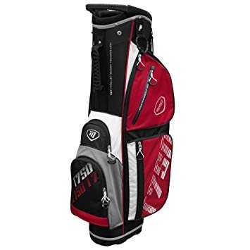 Masters T750 Cartbag schwarz/rot