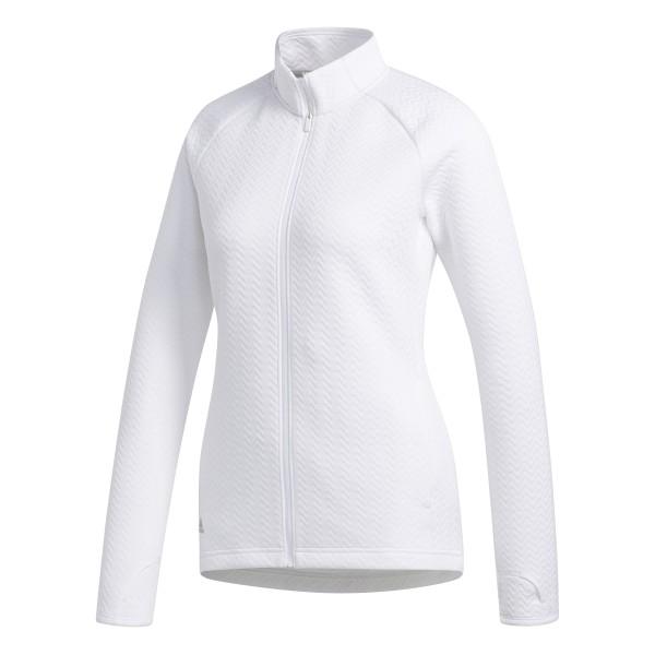 adidas Texture Full-Zip Jacke Damen weiß