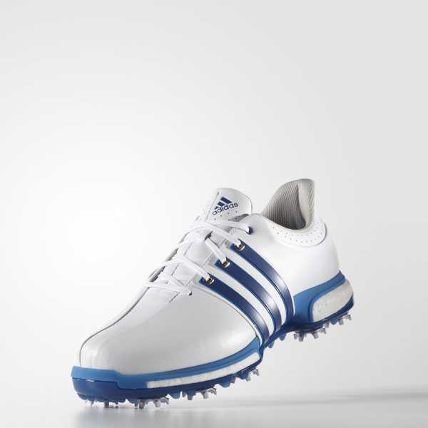 Adidas Tour360 Boost *BREIT* Herren weiß/blau