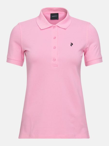 Peak Performance CLASSIC Pique Polo Damen pink
