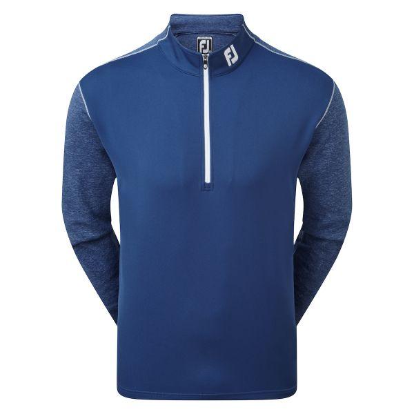 Footjoy Tonal Heather Chill-Out Pullover Herren blau