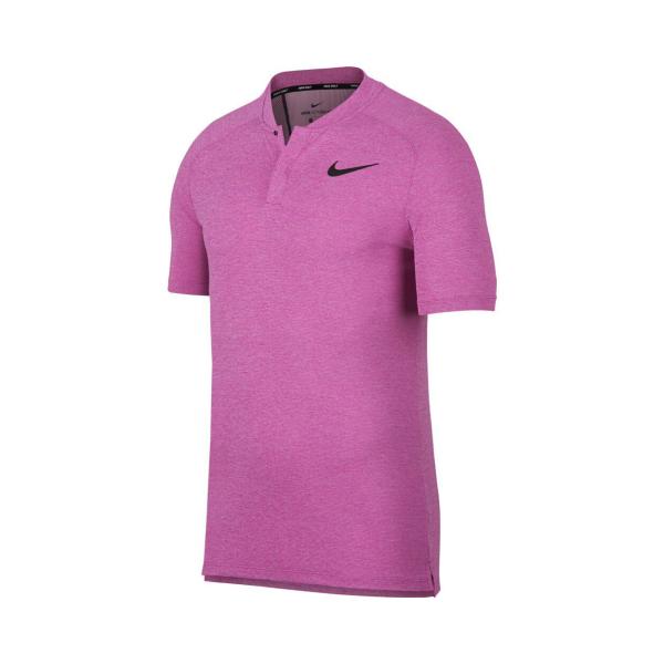 Nike AeroReact Momentum Polo Herren magenta
