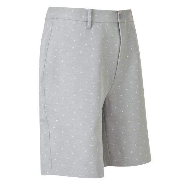 Footjoy Print Shorts Herren grau/weiß