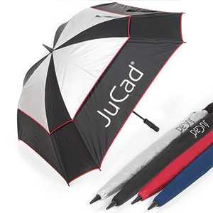 JuCad Teleskopschirm Windproof