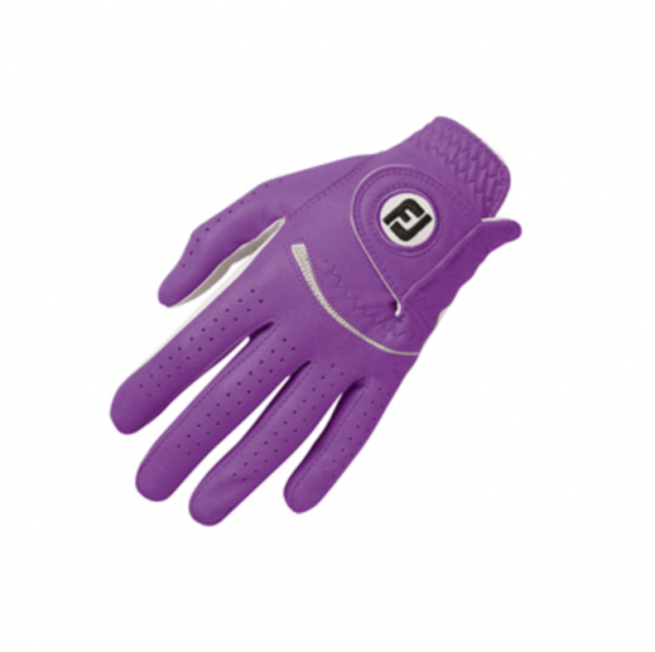 Footjoy Spectrum Damenhandschuh weiß/lila