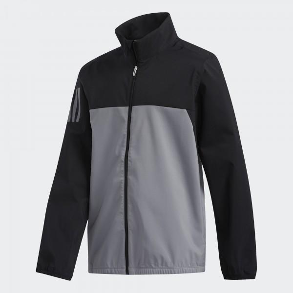 adidas Provisonal Rain Jacket Jungen schwarz