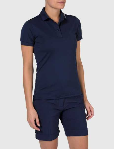 J. Lindeberg Tour Tech slim TX Jersey Polo Damen