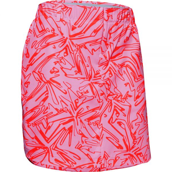 Under Armour Links printed Skort Damen pink