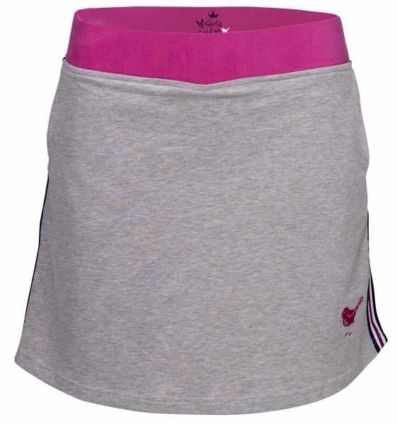 Girls Golf comfy sweat Rock Damen grau