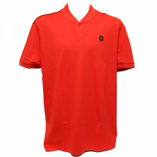 J. Lindeberg Bevin Cotton Poly Polo Herren rot