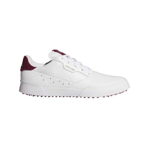 adidas adicross Retro Golfschuh Damen weiß/pink