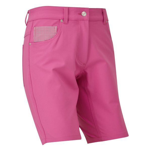 Footjoy Golfleisure Stretch Short Damen rosa
